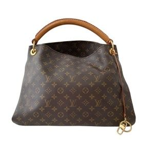 Louis Vuitton Monogram Artsy MM Hobo Shoulder Bag